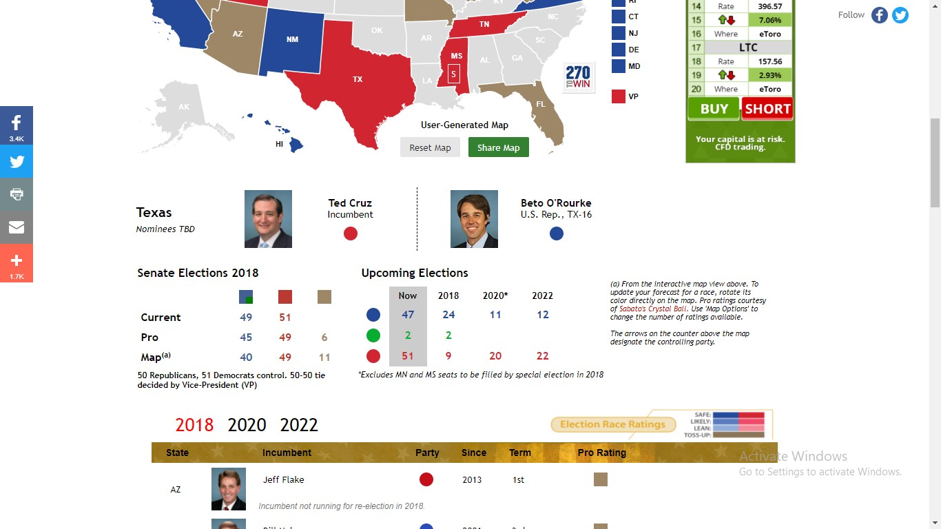 270 to Win - Election Interactive Map for Kids and Adults
