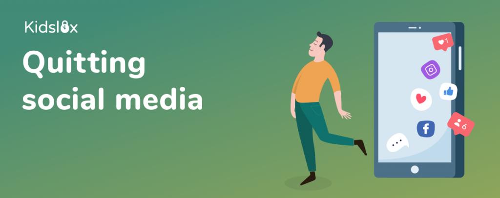 Quitting social media challenge