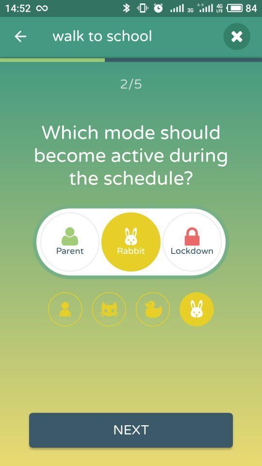 rabbit mode schedule