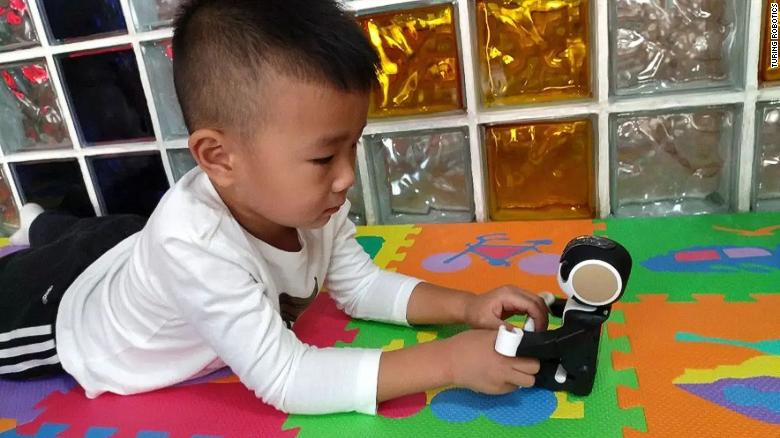 AI robots are transforming parenting in China